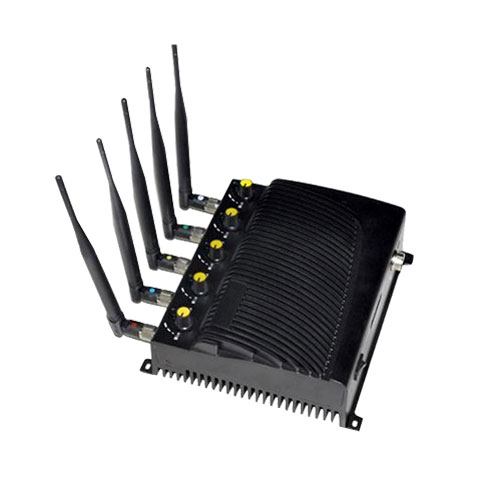 Jammer cycle products catalog | Adjustable 5.2G/5.8G 2.4G WIFI Jammer With 4 Antennas