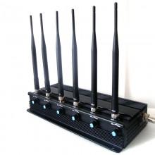 15W High Power Adjustable Signal Blocker for GPS 3G 4G Cellphones