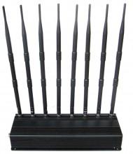 High Power Multi-functional Desktop Jammer for 3G 4G GPS WiFi LoJack Devices