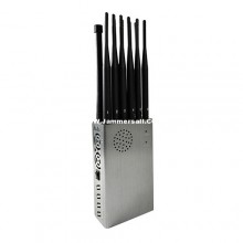 12 Antennas Portable 2G 3G 4G Cell Phone Jammer 2.4G 5.2G 5.8G WiFi All GPS L1L2L3L4L5 Bands Signal Blocker