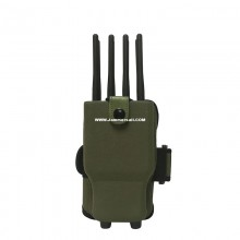 8 Antennas Portable Cell Phone Jammer 2.4G WiFi GPS 2G 3G 4G Selectable Blocker