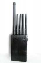 Handheld Selectable Signal Blocker for 3G Cellphones GPS LoJack Devices
